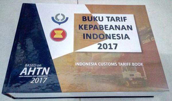 Buku Tarif Kepabeanan Indonesia (BTKI) 2017 - Buku HS