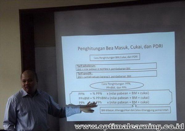 Diklat Ahli Kepabeanan (Kursus PPJK) Bandung - www.optimalearning.co.id