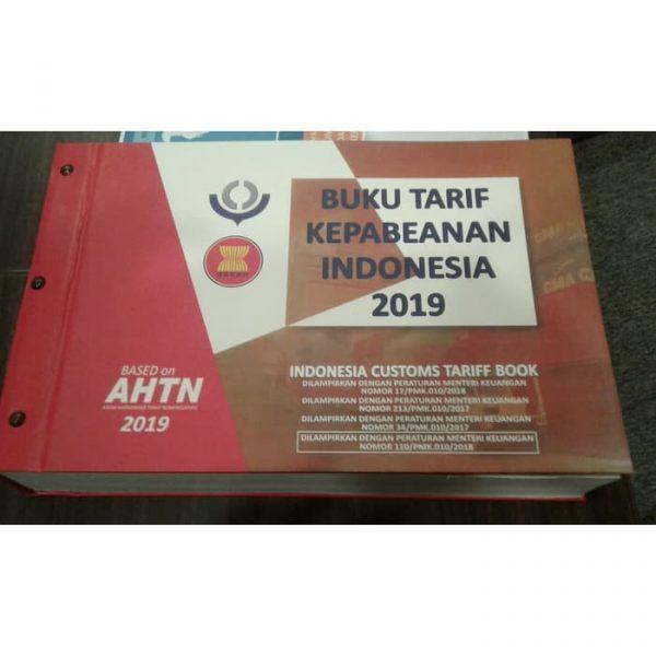 Buku Tarif Kepabeanan Indonesia (BTKI) 2017 - Cetakan th 2020
