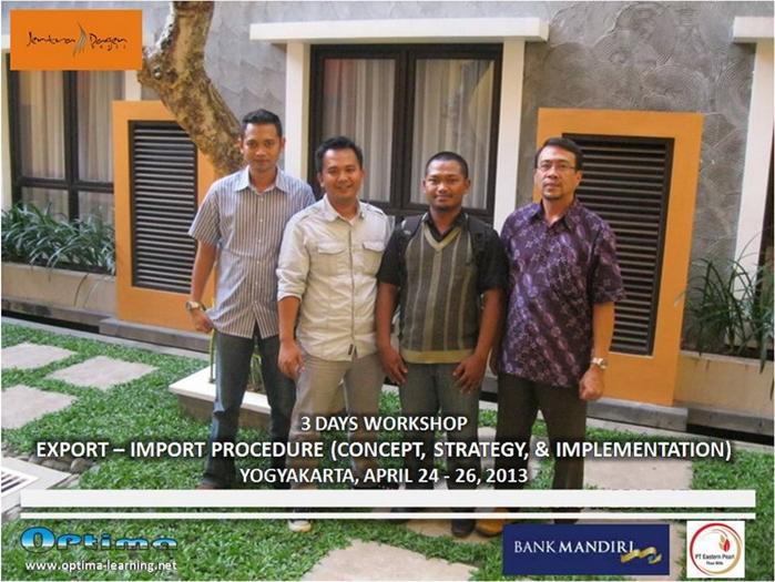 Training Export Import Yogyakarta I