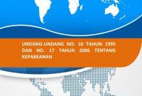Modul Diklat Ahli Kepabeanan (PPJK) - Undang - Undang Kepabeanan