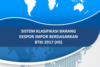 Cover Buku Sistem Klasifikasi Barang Ekspor Impor (HS)