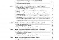 Daftar Isi Buku Sistem Nilai Pabean Ekspor Impor